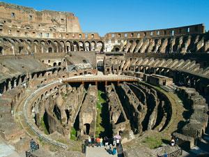 Roman Colosseum, Rome, Italy