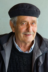 elderly European pensioner